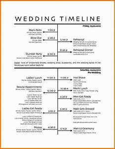 wedding timeline template wedding day timeline template With wedding day timeline template word