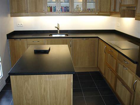 plan de cuisine granit intérieur granit plan de travail en granit noir
