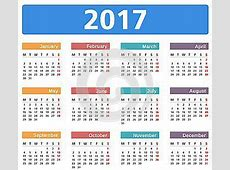 Calendario Festività 2017