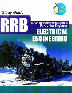 Books To Be Referred For Railway Technical Post Of Junior