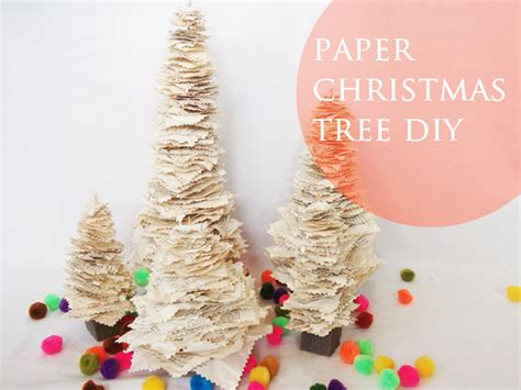 a daily something diy paper christmas tree