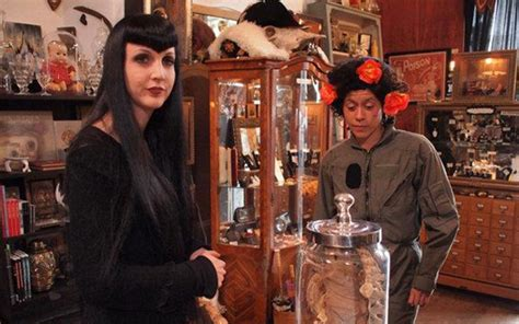 the shop of curiosities artistic ceramics in san gimignano oddities san francisco 171 leftfield pictures an itv america company