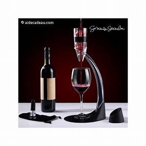 Décanteur De Vin : d canteur de vin avec pied a rateur deluxe ~ Teatrodelosmanantiales.com Idées de Décoration