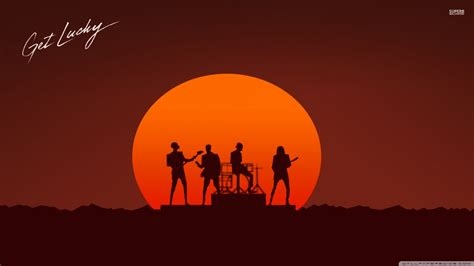 Daft Punk - Get Lucky Ultra HD Desktop Background ...