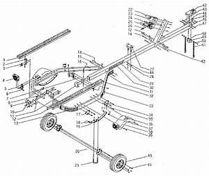 Sears 600 Lb  Boat Trailer Parts