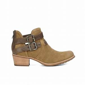 UGG Women's Patsy Heeled Suede Ankle Boots - Chestnut ...