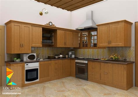 kerala style kitchen design picture أشكال مطابخ خشبية بتصميمات عصرية دهانات مطابخ خشب 2017 7629