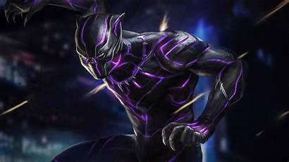 Panther 4k Wallpapers Marvel Comics Pantera Negra
