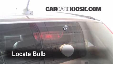 third brake light bulb change honda cr v 2007 2011