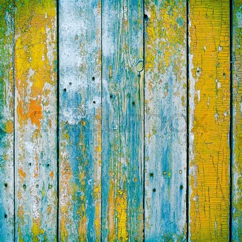 wooden planks painted  paint cracked   rustic