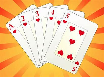 Cards Playing Clip Clipart Deck Vector Card