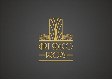 Home Decor Logo 99 Design Contest : Art Deco Wedding Prop Logo
