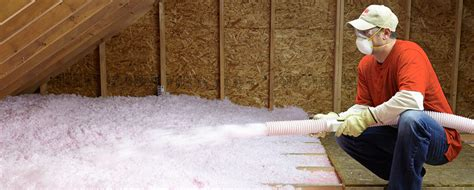 blown insulation alcal home services division