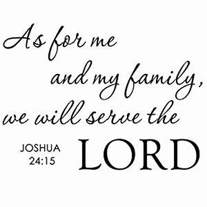 as for me and my family we will serve the lord With best brand of paint for kitchen cabinets with inspirational bible verses wall art