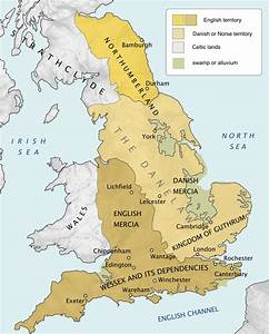 Maps 500 1000 The History Of England