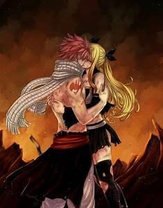 Nalu ( kiss)    Natsu Dragneel x Lucy Heartfilia    Fairy ...