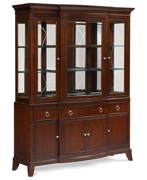 Macys Bradford China Cabinet by Dining Room Complete China Cabinet Furniture Macy S