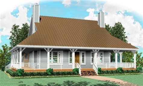 one and a half story house plans with porches one and a half hyphen one story country home