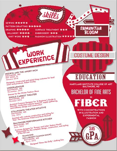 costume designer resume resume ideas