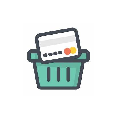Shopping Icon Icons Vector Svg Consumption Type