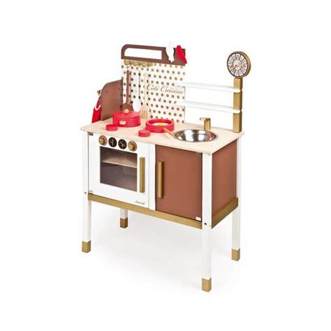 cuisine bois janod maxi cuisine chic janod la fée du jouet achat vente de jouets en bois