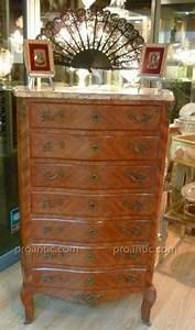 Meuble Style Louis Xv : semainier style louis xv xix autres meubles ~ Dallasstarsshop.com Idées de Décoration