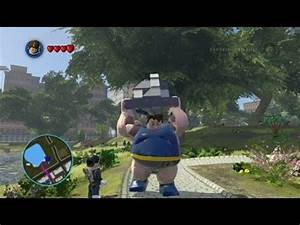 LEGO Marvel Super Heroes - Blob Free Roam Gameplay - YouTube