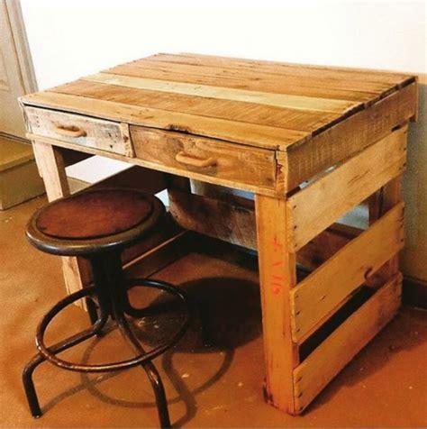 wood pallet desk 19 diy desk ideas to inspire a home office makeover