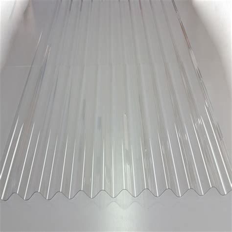 sunlite pvc roofing 2400x660mm clear bunnings warehouse