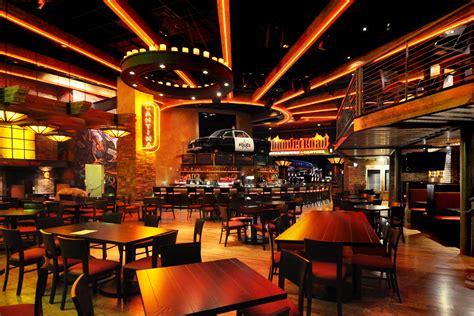 thunder road steakhouse themed casino restaurant design