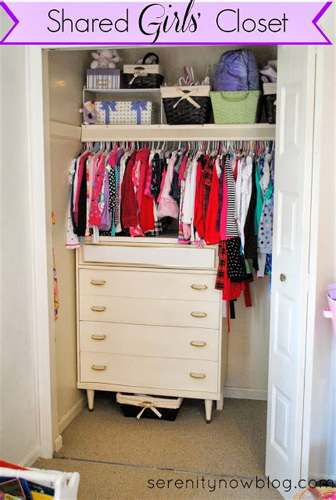 Serenity Now Organizing A Shared Girls' Closet (real Life
