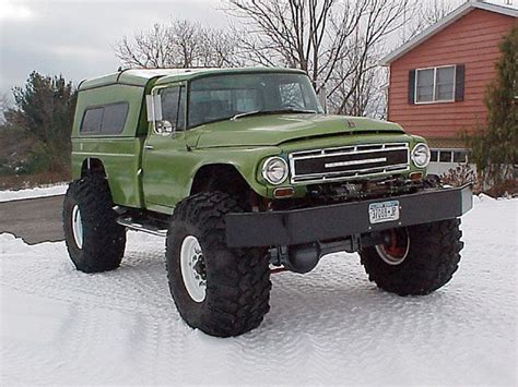 hunting truck for sale 1966 international harvester 1300a front view photo 7