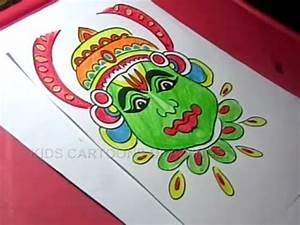 How to Draw Happy Onam Festival Drawing for kids Step By ...