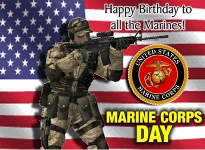 Birthday Marines Happy Corps Marine Card Greetings