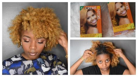 Black To Blonde Natural Hair