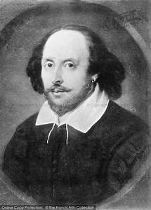 Pics For > Shakespeare Portrait Black And White