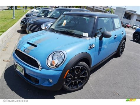 Mini Cooper Blue Edition Hd Picture by Bayswater Kite Blue Metallic 2012 Mini Cooper S Hardtop