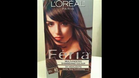 L'oréal Paris Feria Multi-faceted Shimmering Haircolor