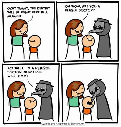 Explosm Comics Cyanide Happiness Doctor Plague Comic