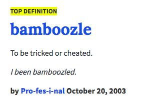 Meme Dictionary Definition - urban dictionary definition bamboozle know your meme