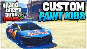 "GTA 5 Custom Paint Jobs - ""Redbull Jester"" & Custom ..."