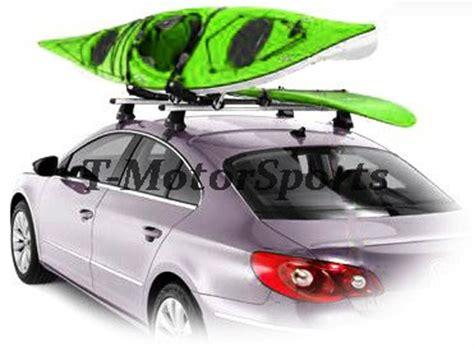 car top kayak racks 2 pairs universal roof j rack kayak boat canoe car suv