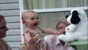Excited Baby GIF - Excited Baby Funny - Discover & Share GIFs