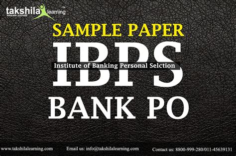 sbiibps exam previous sample papers   question