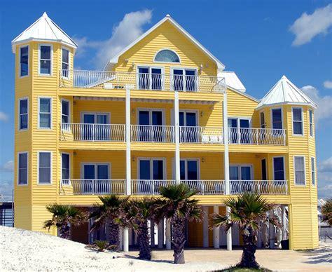 Beach Yellow Apartment Color Scheme » House Exterior