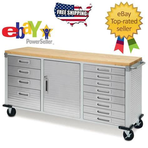 drawers garage steel metal rolling tool box storage