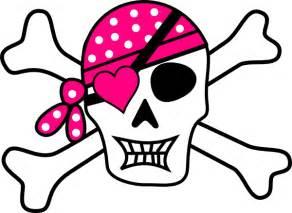 Pirate Skull and Bones Clip Art