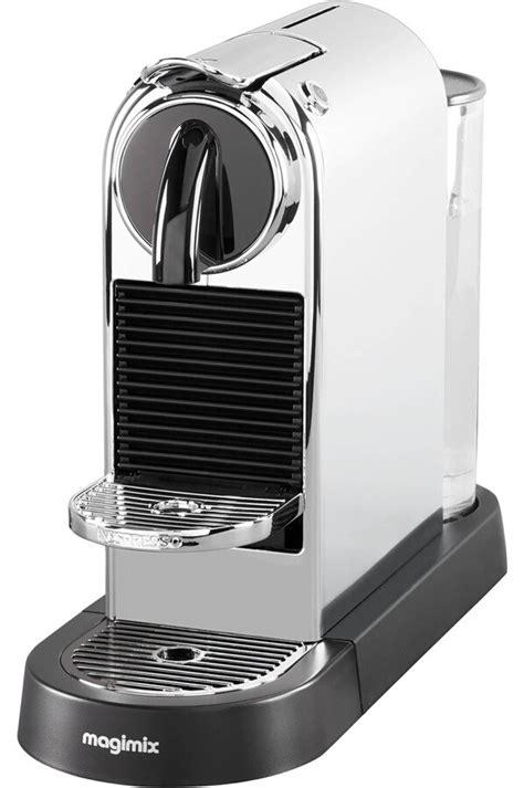 Machine Nespresso Magimix Expresso Magimix Citiz Nespresso 11316 Chrome 4243153 Darty