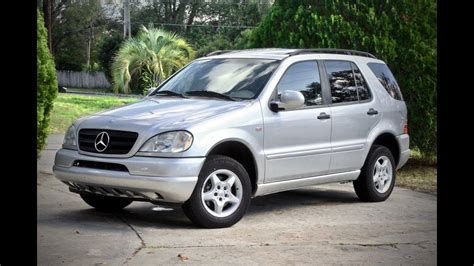 mercedes ml w163 2000 mercedes ml320 w163 review and test drive