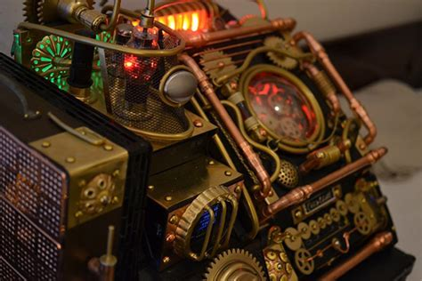 Video Game Inspired Steampunk Computer Case Mod